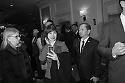 LOUISE GREEN TAIWAN; JULIAN T.A. LIN, California State Society Inaugural luncheon. Ritz-Carlton, Washington. DC . 19 January 2017