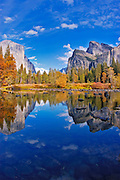 The Merced River at Gates of the Valley, Yosemite National Park, California