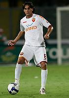"""Alberto Aquilani Roma<br /> Palermo 13/9/2008 Stadio """"La Favorita""""<br /> Palermo Roma 3-1 Campionato Italiano Serie A 2008/2009<br /> Foto Insidefoto"""