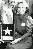 1983 Beverly Garland's Walk of Fame ceremony