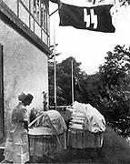 Lebensborn nursing home. Lebensborn (Fount of Life) was a Nazi organization set up by SS leader Heinrich Himmler, which provided maternity homes and financial assistance to the wives of SS members and to unmarried mothers. Set up in Germany in 1935, Leben