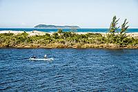Madre River at Guarda do Embaú. Palhoça, Santa Catarina, Brazil. / <br /> Rio da Madre na Guarda do Embaú. Palhoça, Santa Catarina, Brasil.