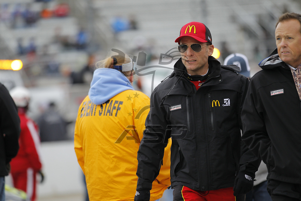 October 29, 2017 - Martinsville, Virginia, USA: Jamie McMurray (1) walks down pitroad before the First Data 500 at Martinsville Speedway in Martinsville, Virginia.