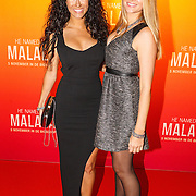 NLD/Hilversum/20151101 - Prinses Mabel aanwezig bij de Premiere He Named Me Malala, Melissa Sneekes