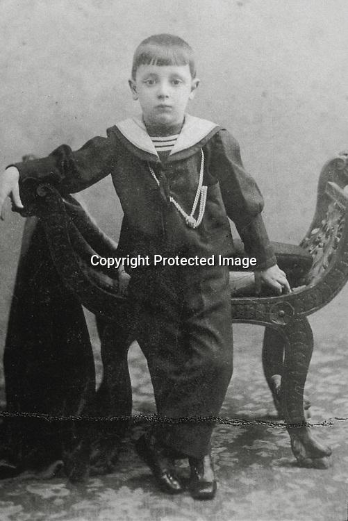 Giuseppe Tomasi di Lampedusa a 6 anni<br />archivio effigie