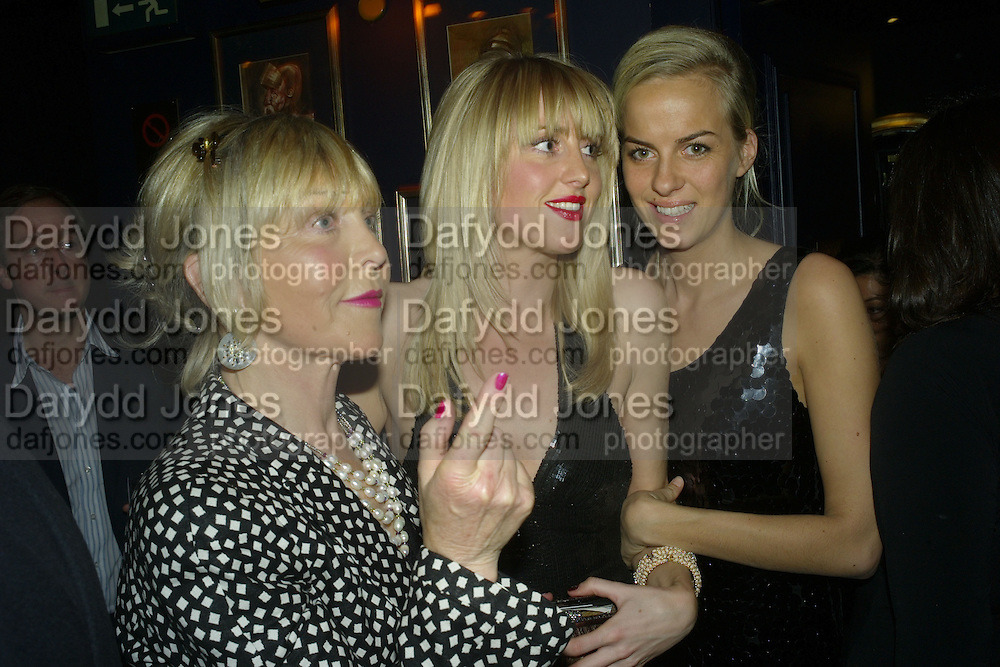 Rosie, Marchioness of Northampton, Lady Emily Compton and Lady Louisa Compton,  Tatler's Little Black Book party. Tramp. Jermyn St.  London. 7 November 2007. -DO NOT ARCHIVE-© Copyright Photograph by Dafydd Jones. 248 Clapham Rd. London SW9 0PZ. Tel 0207 820 0771. www.dafjones.com.