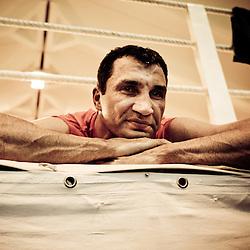 20110609: AUT. Boxing - Vladimir Klichko in training camp