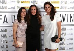 Jane Ross (left), Caroline Weir (centre) and Jennifer Beattie (right)