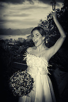 Portrait of a bride.