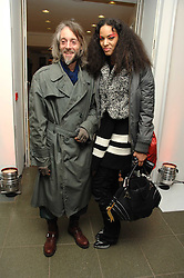 BEN WESTWOOD and JOY VIELI at a party to celebrate the publication of Vivienne Westwood's Opus held at The Serpentine Gallery, Kensington Gardens, London W2 on 12th February 2008.<br />