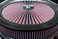 03 June 2007: K&N style air filter. Automotive shots from The Central Illinois Ford Day, held at Dennison Ford in Bloomington, IL.