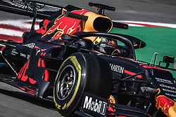 February 18, 2019 - Barcelona, Catalonia, Spain - MAX VERSTAPPEN (NED) from team Red Bull drives in his in his RB15 during day one of the Formula One winter testing at Circuit de Catalunya (Credit Image: © Matthias OesterleZUMA Wire)