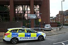 Car Narrowly Escapes Hitting Building Woking