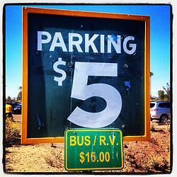 Parking in Phoenix,  2012