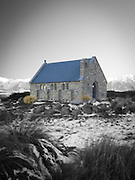 Church of the Good Sheperd, on the shore of Lake Tekapo, New Zealand.