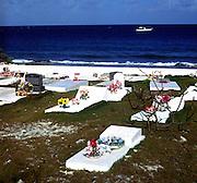 Graveyard, Spot Bay, Cayman Brac, Cayman Islands,