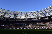 Football - 2021 / 2022  Premier League - West Ham United vs Brentford - The London Stadium - Sunday 3rd October 2021<br /> <br /> A general view of The London Stadium London home of West Ham United.<br /> <br /> COLORSPORT/Ashley Western
