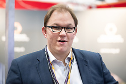 © Licensed to London News Pictures . 23/09/2018. Liverpool, UK. GARETH SNELL MP for Stoke on Trent Central at the first day of the 2018 Labour Party Conference at the Arena and Convention Centre in Liverpool . Photo credit: Joel Goodman/LNP
