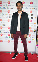 Abid Khan Arriving for the screening of Granada Heights, UK Asian Film Festival, hosted at Rich Mix Shoreditch London photo by Terry Scott