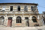 A once grand house in Shkodër. Shkodër, Albania.