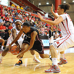 NCAA Women's College Basketball action between Rutgers and Temple at the Louis Brown Athletic Center in Piscataway, N.J.