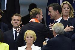 August 31, 2017 - Paris, France, France - Emmanuel Macron - president de la Republique.Mark Rutte - Premier ministre des Pays Bas (Credit Image: © Panoramic via ZUMA Press)