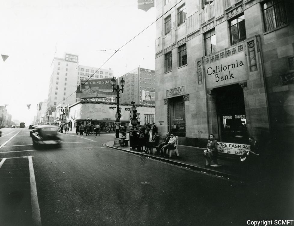 1943 Hollywood Blvd. & Vine St.