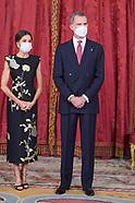 061521 Spanish Royals Host a Dinner for Korean President Moon Jae-In and wife