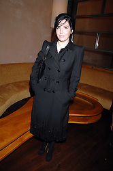 Singer SHARLEEN SPITERI at a party to celebrate the launch of Cavalli Selection - the first ever wine from Casa Cavalli, held at 17 Berkeley Street, London W1 on 29th May 2008.<br /><br />NON EXCLUSIVE - WORLD RIGHTS