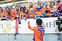 Eliteserien fotball 2015: Aalesund - Stabæk. Eliteseriekampen mellom Aalesund og Stabæk på Color Line Stadion, dette var siste kampen til Michael Barrantes for AaFK.