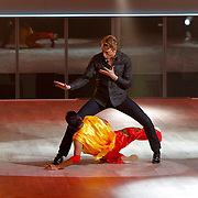 NLD/Hilversum/20121014 - Finale Strictly Come Dancing 2012, Mark van Eeuwen en chinese danser