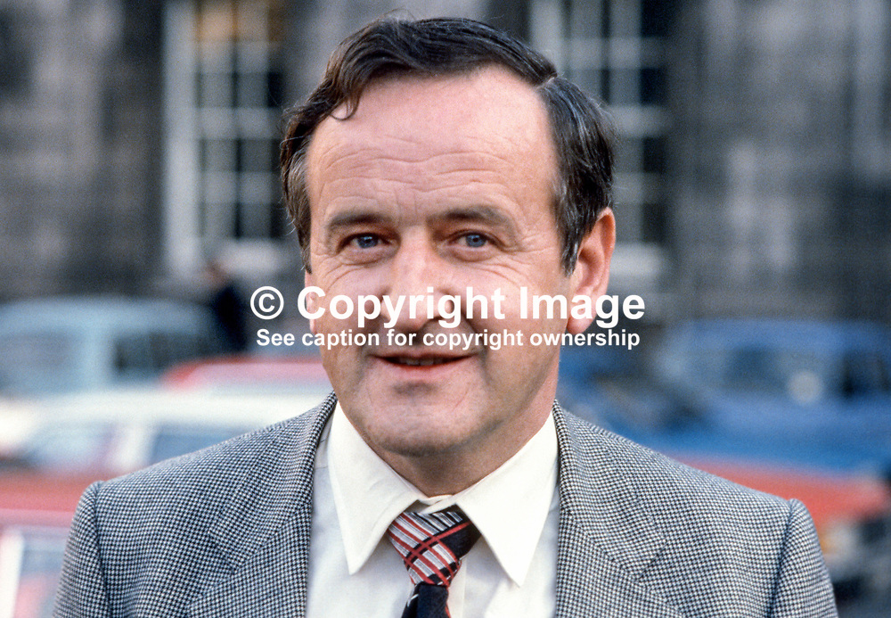 Albert Reynolds, Fianna Fail, TD, Minister, Rep of Ireland, 198002000029a.<br /> <br /> Copyright Image from Victor Patterson, Belfast, UK<br /> <br /> t: +44 28 9066 1296 (from Rep of Ireland 048 9066 1296)<br /> m: +44 7802 353836<br /> e: victorpattersonbelfast@gmail.com<br /> <br /> www.images4media.com<br /> <br /> Please see my full Terms and Conditions of Use at https://www.images4media.com/p/terms-conditions - it is IMPORTANT that you familiarise yourself with them.<br /> <br /> Images used online incur an additional cost. This cost should be agreed in writing in advance. Online images must be visibly watermarked i.e. © Victor Patterson or that of the named photographer within the body of the image. The original metadata must not be deleted from images used online.<br /> <br /> This image is only available for the use of the download recipient i.e. television station, newspaper, magazine, book publisher, etc, and must not be passed on to a third party. It is also downloaded on condition that each and every usage is notified within 7 days to victorpattersonbelfast@gmail.com.<br /> <br /> The right of Victor Patterson (or the named photographer) to be identified as the author is asserted in accordance with The Copyright Designs And Patents Act (1988). All moral rights are asserted.