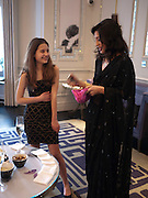 TIGER LILY;; FATIMA BHUTTO, Henry Porter hosts a launch for Songs of Blood and Sword by Fatima Bhutto. The Artesian at the Langham London. Portland Place. 15 April 2010. *** Local Caption *** -DO NOT ARCHIVE-© Copyright Photograph by Dafydd Jones. 248 Clapham Rd. London SW9 0PZ. Tel 0207 820 0771. www.dafjones.com.<br /> TIGER LILY;; FATIMA BHUTTO, Henry Porter hosts a launch for Songs of Blood and Sword by Fatima Bhutto. The Artesian at the Langham London. Portland Place. 15 April 2010.