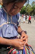 Chapas,Ritratto di un a bambina indios del posto.Chapas, Portrait of an Indios little girl in the place.