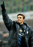 Javier Zanetti (Inter) <br /> Inter Bologna - Campionato di Seire A Tim 2010-2011<br /> Stadio Giuseppe Meazza, San Siro, Milano, 15/01/2011<br /> © Giorgio Perottino / Insidefoto
