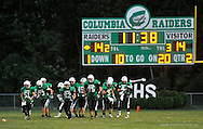 Northwestern High School at Columbia High School varsity football on September 13, 2013. Images © David Richard and may not be copied, posted, published or printed without permission.