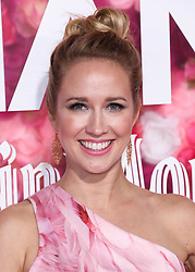 LOS ANGELES, CA, USA - FEBRUARY 11: Los Angeles Premiere Of Warner Bros. Pictures' 'Isn't It Romantic' held at The Theatre at Ace Hotel on February 11, 2019 in Los Angeles, California, United States. 11 Feb 2019 Pictured: Anna Camp. Photo credit: David Acosta/Image Press Agency / MEGA TheMegaAgency.com +1 888 505 6342