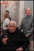 SIR HOWARD HODGKIN; ANTONY PEATTIE, Masterpiece London 2014 Preview. The Royal Hospital, Chelsea. London. 25 June 2014.