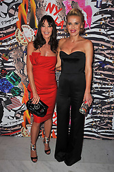 Left to right, TAMARA MELLON and DIANA JENKINS at the launch of Project PEP to benefit the Elton John Aids Foundation hosted by Tamara Mellon and Diana Jenkins in association with Jimmy Choo held at Selfridges, Oxford Street, London on 29th October 2009.