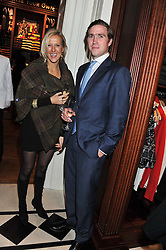 JACK MANN son of ex-SAS officer Simon Mann and LAURA BOSCAWEN at a party hosted by TLC to celebrate signing their 5000th member and Ralph Lauren to celebrate the opening of the first Ralph Lauren Rugby store in the UK at 43 King Street, Covent Garden, London on 30th November 2011.