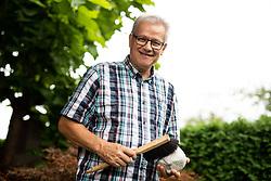 Portrait of Marko Juhant, on August 23, 2019 in Mavcice, Slovenia. Photo by Vid Ponikvar / Sportida