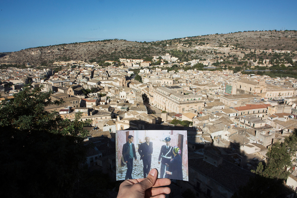 """SCICLI, ITALY - 23 OCTOBER 2014: The town of Scicli, where scenes of the TV series """"Il Commissario Montalbano"""" have been shot, in Scicli, Italy, on October 23rd 2014."""