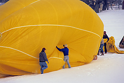 The Taking Down Of A Balloon