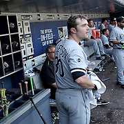 NEW YORK, NEW YORK - June 01:  Pitcher David Robertson #30 of the Chicago White Sox in the dugout during the Chicago White Sox  Vs New York Mets regular season MLB game at Citi Field on June 01, 2016 in New York City. (Photo by Tim Clayton/Corbis via Getty Images)