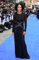 Virginie Besson attending the European premiere of Valerian and the City of a Thousand Planets at Cineworld in Leicester Square, London.