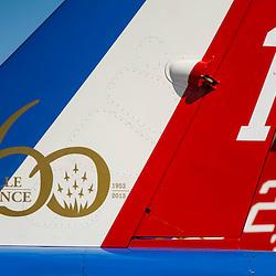 Célébrations du 60ème anniversaire de la Patrouille de France sur la Base Aérienne 701 de Salon de Provence. Démonstrations et présentations des savoirs-faire de l'Armée de l'Air.<br /> Mai 2013 / Salon de Provence / Bouches du Rhône(13) / FRANCE