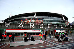 A general view of Emirates Stadium before the match begins
