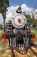 Steam engine in Ciego de Avila, Cuba.