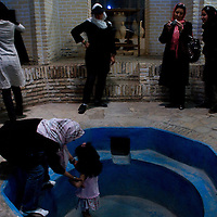 Iranian tourist in Yazd.
