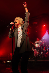 Jenna McDougall of Tonight Alive performs live on stage on 12 November 2018 at O2 Institute in Birmingham, England. Picture date: Monday 12 November, 2018. Photo credit: Katja Ogrin/ EMPICS Entertainment.